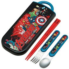 Marvel Studio Avengers Age of Ultron Design Utensil Set Spoon Fork Chopsticks -- This is an Amazon Affiliate link. Check out this great product.