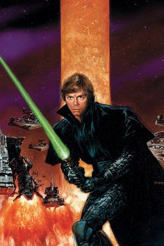 Luke Skywalker by Dave Dorman