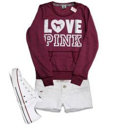 Cute Outfit for Football Season! #AAMU I would add some leggings tho :)