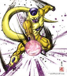 Dragon Ball Shikishi ART 3 Golden Freezer