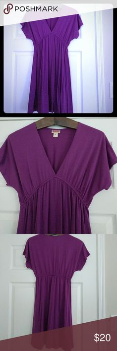 Purple Mossimo Supply Company dress This purple Mossimo Supply Company dress is perfect with your strappy sandals and a would be perfect to wear to the beach or on a casual date. Mossimo Supply Co. Dresses Midi