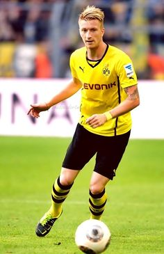 Marco Reus -  attacking midfielder or winger for the German Bundesliga club Borussia Dortmund and the Germany national football team.