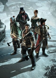 Assassin's Creed III Art & Pictures  Characters Poster
