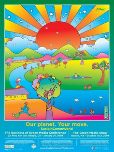 Peter Max. Nobody did psychedelia better.