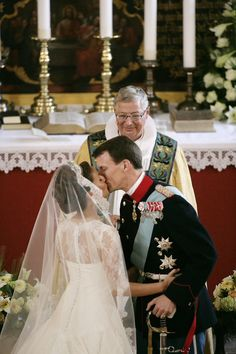 Wedding of Prince Joachim of Denmark and ms Marie Cavallier on May 24, 2008