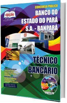 0c9c33d5f Apostila Concurso Banpará 2018 Técnico Bancário | Apostila para ...
