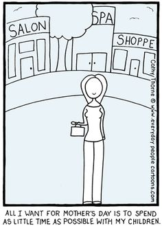 Mother's Day Cartoon