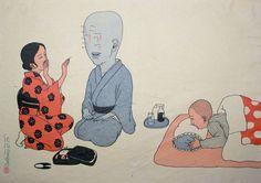 Maboroshimakura by Toshio Saeki, The Godfather of Japanese Eroticism