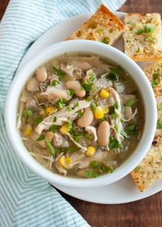Recipe: Slow-Cooker White Chicken Chili — Quick and Easy Weeknight Dinners