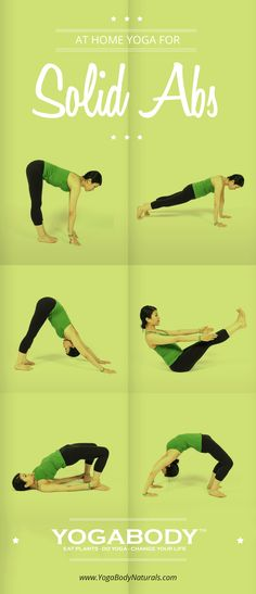 Yoga Poses for Solid Abs