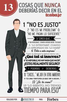 13 frases que nunca deberías decir en el #trabajo  Visto en @forbes_es pic.twitter.com/WAhb7spzSO