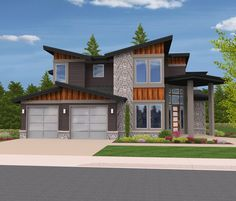 This striking modern home spares no luxury. With five generous bedrooms, a den, a shop, and a large rec room, there isn't anything that can't be done with