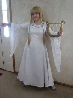 Shayla 39 s wedding on pinterest zelda legend of zelda and for Legend of zelda wedding dress