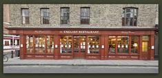 The English Restaurant - Brushfield Street, Spitalfields, London UK. A family-owned restaurant on the fringe of the city. Classic Restaurant, Restaurant Bar, London Night, London Eye, Visit Uk, Big Ben London, Liverpool Street, London Design Festival, Cream Tea