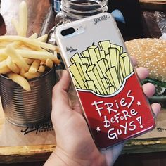 🍟 Vai uma #batatafrita aí? {case: batata-frita} 💛 [FRETE GRÁTIS A PARTIR DE DUAS GOCASES] 📲✌🏼 #gocasebr #instagood #iphone7plus #usogocase #lifeonadraw #amogocase #fries