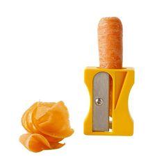 Sacapuntas de zanahoria