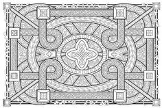 very advanced coloring pages for adults | ... coloring pages fun and funky geometric coloring pages below are low