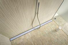 Le caniveau de douche italienne offre un meilleur débit d'évacuation et un esthétique ultra moderne à votre salle de bain à l'italienne...