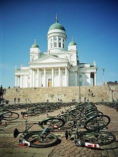 Senate Square . Helsinki, Finland