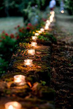 Un mariage champêtre à la maison – Sarah + Félix Enchanted Forest Wedding, Woodland Wedding, Rustic Wedding, Hobbit Wedding, Gothic Wedding, Home Wedding, Wedding Ceremony, Dream Wedding, Wedding Ideas