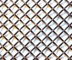 Decorative Metal Mesh Panels | Flat Wire Mesh Panels for ...