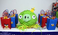 angry+bird+birthday+party+ideas | Angry Birds Birthday Party from Moments with the Montano's