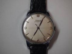 スイス製DOXA腕時計手巻きアンティーク動作品 Watch analog hand winding ¥6800yen 〆05月02日