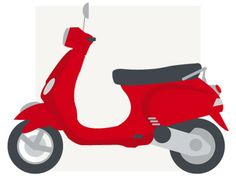 Milan Icons > Vespa scooter
