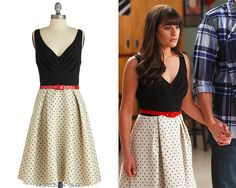 Loved this dress Lea Michele wore in 'Heart.' Modcloth Eva Franco What a Debut Dress $212.99