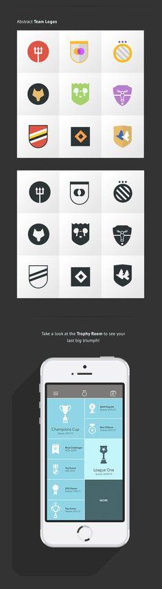 eKickr Mobile App by Lukas Bischoff, via Behance