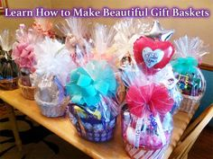 This is a 12 Part Course on how to create gift baskets. Student will learn how to plan, assemble and decorate beautiful gift baskets for almost any occasion.