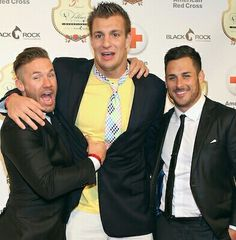 Julian Edelman, Rob Gronkowski & Danny Amendola. I'd do each one of those studs. One on one OR all at the same time.