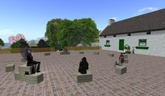 """From my friend Bex:  """"Initial Teacher Training in Second Life. Teaching real people to be real teachers in real classrooms...but using a virtual world to do it. Possibly the maddest thing I have ever been involved with!"""""""
