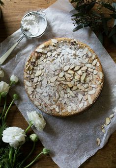 italian almond ricotta cake, my way. - The Clever Carrot