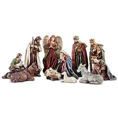 The Holy Family Nativity Set -- Check this awesome product by going to the link at the image. (This is an affiliate link) #HomeDcorAccents