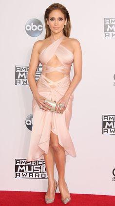 Jennifer Lopez in Reem Acra