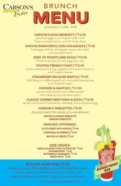New Brunch menu! Huevos Rancheros, American Restaurant, Brunch Menu, Prime Rib, Ann Arbor, Poached Eggs, Smoked Salmon, Brunch, Poached Egg