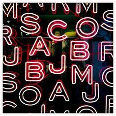 Neon Letters Hipstamatic by Tessek, via Flickr