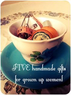 5 Gift ideas for Her - Handmade with Love!
