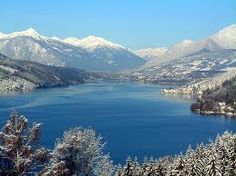 Millstätter See, Austria. We drove past this lake on our way from St Michaels in Austria to Italy. Such stunning countryside. I loved Austria. Wonderful Places, Beautiful Places, All Inclusive Urlaub, Visit Prague, Carinthia, Visit Germany, Heart Of Europe, Central Europe, Cool Countries