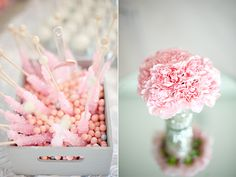 pink mini dessert | Thanks to photographer Athena Pelton for sharing some images of the ...