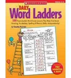 scholastic daily word ladders grades 2-3 pdf