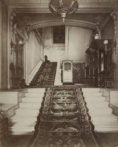 Interiors of A.A. Polovtsov's Mansion on Bolshaya Morskaya Street  Russia, 1870s