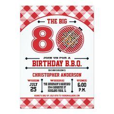 Personalized Barbecue Invitation BBQ 2nd Birthday Invitation C121 Boy Birthday Invitations Boy Summer Birthday Invitation Cards