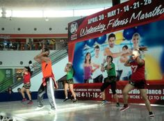 Getting fit and healthy because of Zumba! :)
