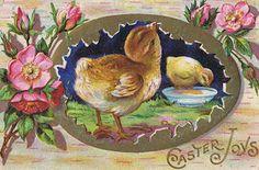 easter postcards vintage | Lilac & Lavender: March 2012