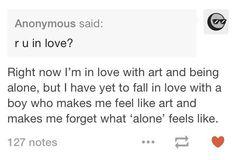 alone-ness