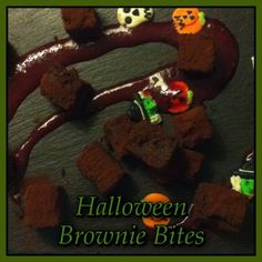 'Bloody' Brownie Bites, created by head chef Pat McLarnon for our Halloween Corporate Night Halloween Brownies, Brownie Bites, Dublin, Night, Create, Kitchen, Desserts, Food, Cuisine