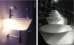 WET LTB Washbasin with internal light