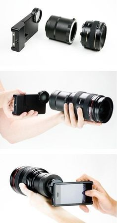 Transform iPhone into SLR camera